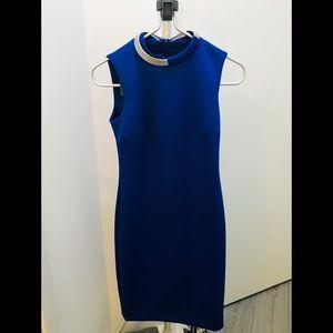 💙 Gorgeous Calvin Klein Cobalt Blue Dress Size 4